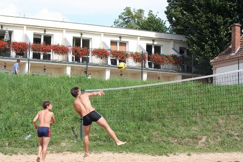 boisko do siatkówki na plaży