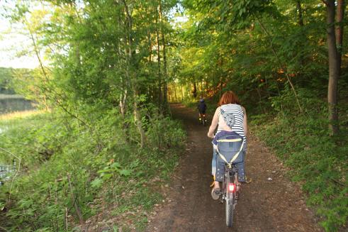 Trasy piesze i rowerowe